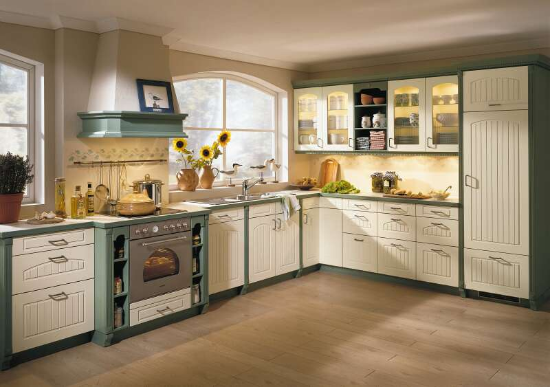 Countrystyle gallery for Alno kitchen cabinets